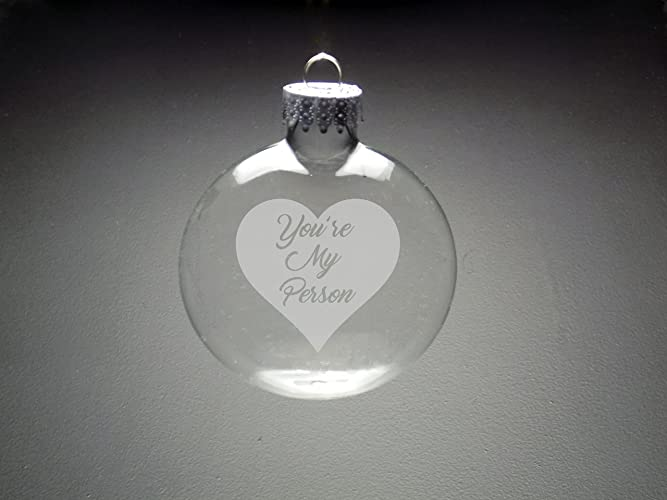 Amazon.com: You\'re My Person Christmas Ornament - Christmas Gift ...