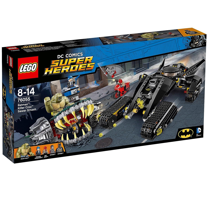 LEGO Super Heroes - Batman, Golpe en Las alcantarillas de Killer Croc (6137786)