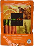 Real Food Blends Orange Chicken, Carrots & Brown Rice Pureed Blended Meal, 9.4 Oz Package (Pack of 12)