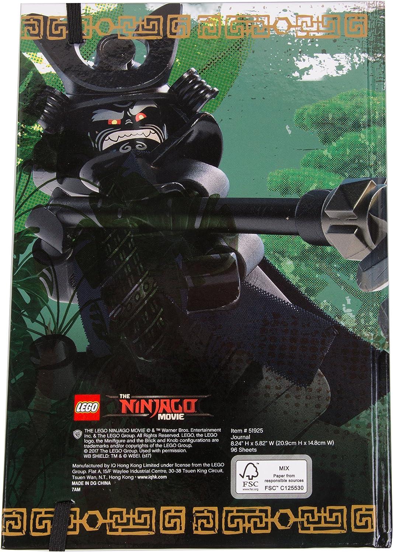 LEGO Ninjago Movie - Sensei Wu Journal Diary - 96 Pages
