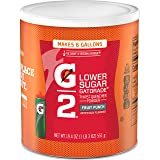 Gatorade Thirst Quencher Powder, G2 Fruit Punch, 19.4 Ounce, pack of 3