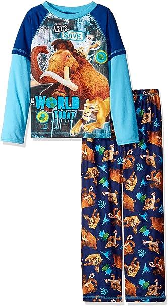 Teen Titans Boys Big 2 Piece Jersey Pajama Set