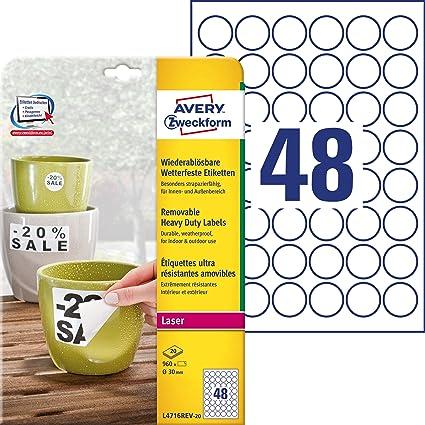 silber matt selbstklebend PET-Folie 33 Etiketten A4 Bogen 50 x 25 mm