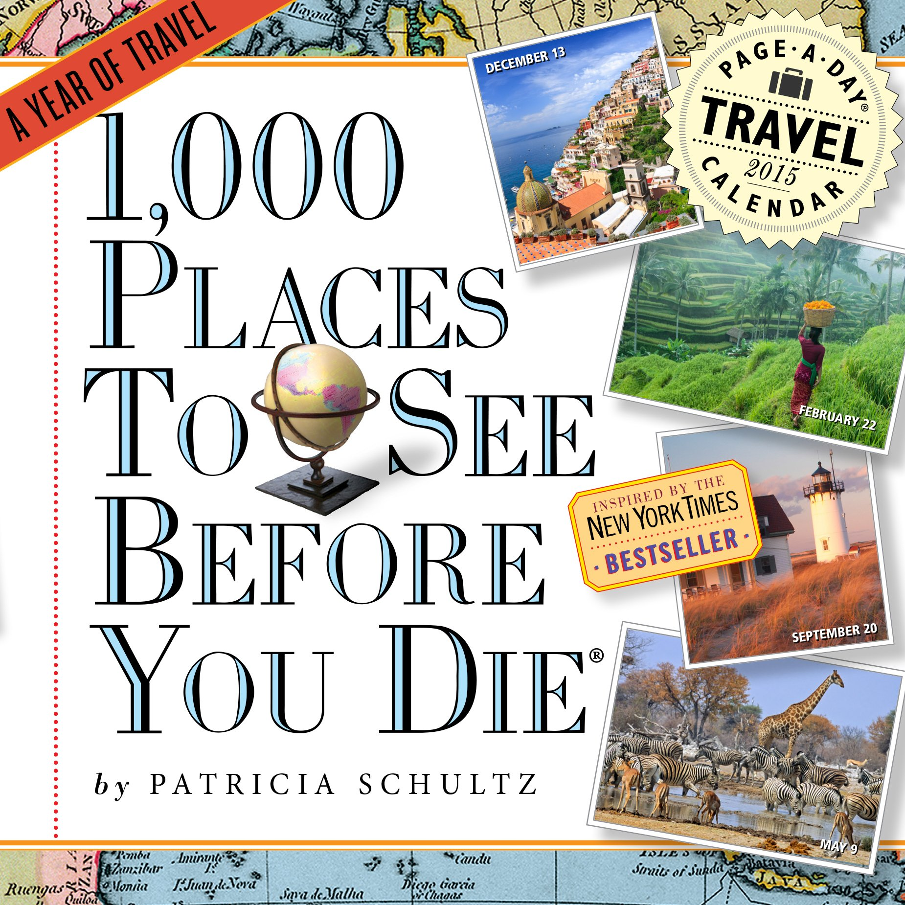 1, 000 Places to See Before You Die 2015 Page-A-Day Calendar: Patricia  Schultz: 9780761179375: Amazon.com: Books