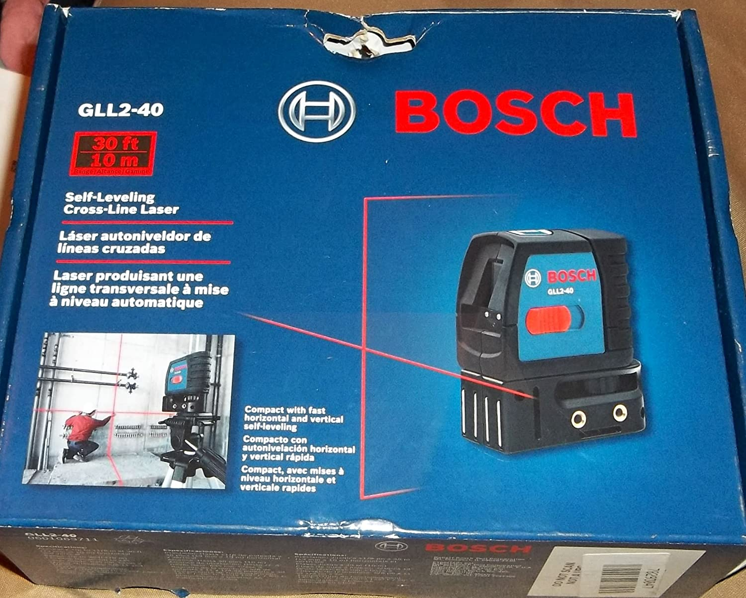 Bosch GPL3S 3-Point Laser Alignment with Self-Leveling (Discontinued by Manufacturer)