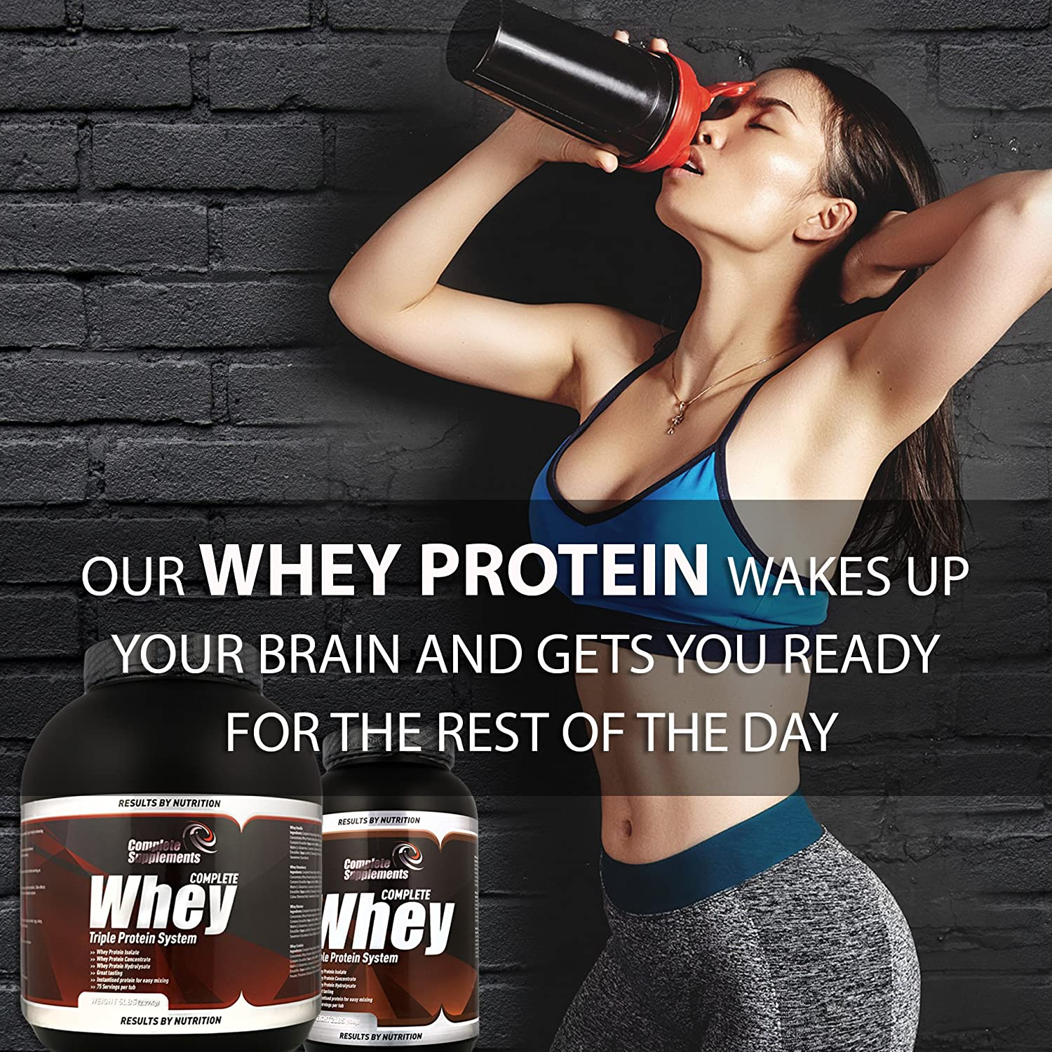Triple Whey Protein Powder Premium Complete Supplements ...