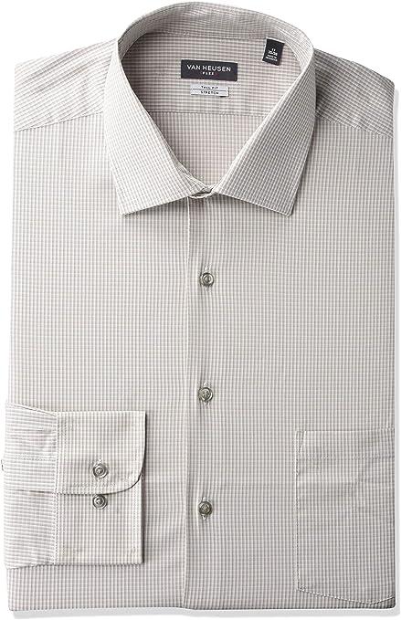 Van Heusen Camisas de vestir grandes y altas para hombre