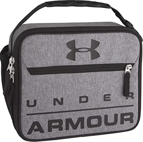 ba672ed2cf97 Under Armour Scrimmage Lunch Box, Heather Gray