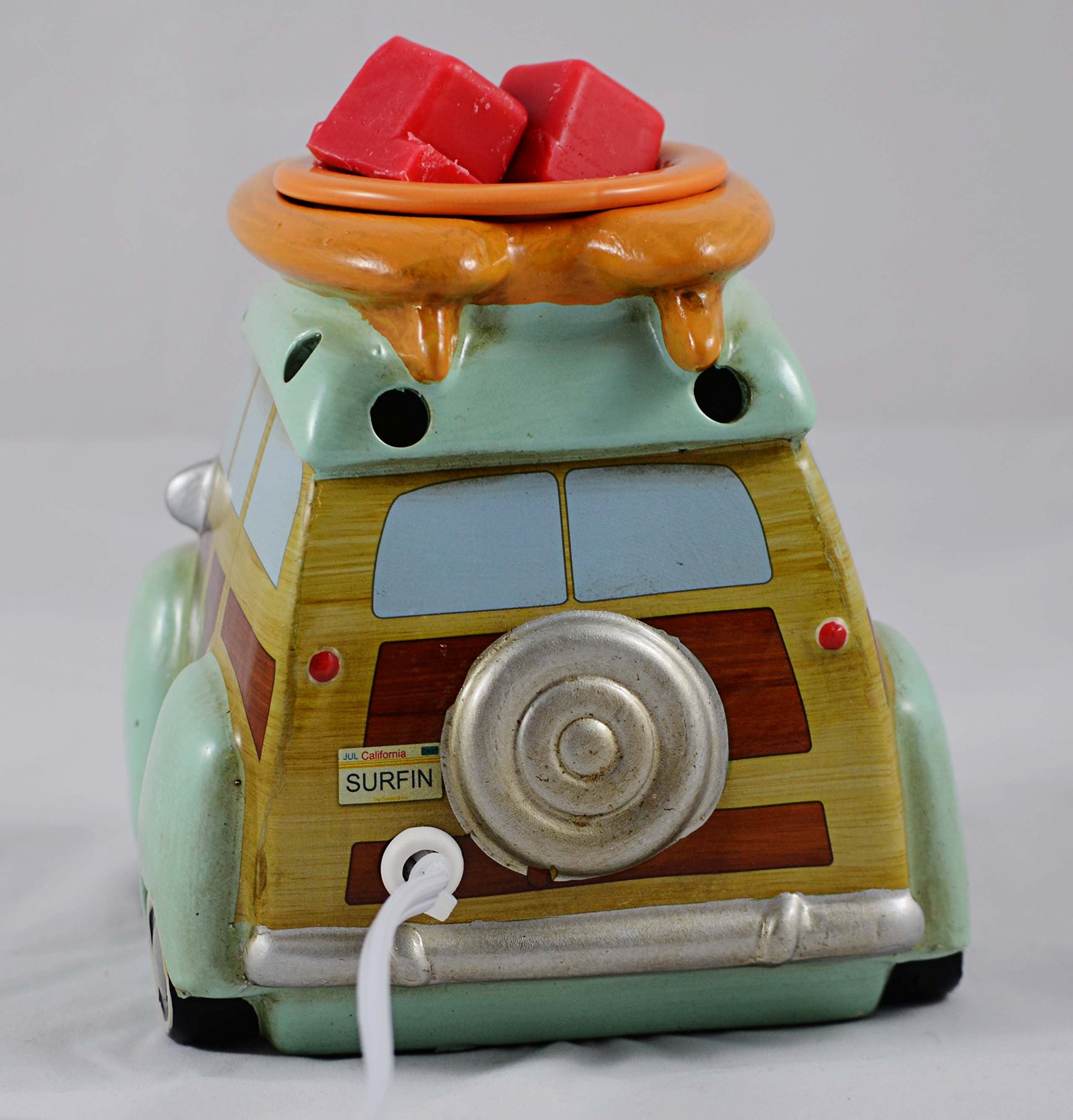 Scentsationals Retro Collection-Surf Woody Wagon - Scented Wax Cube Warmer by ScentSationals (Image #4)