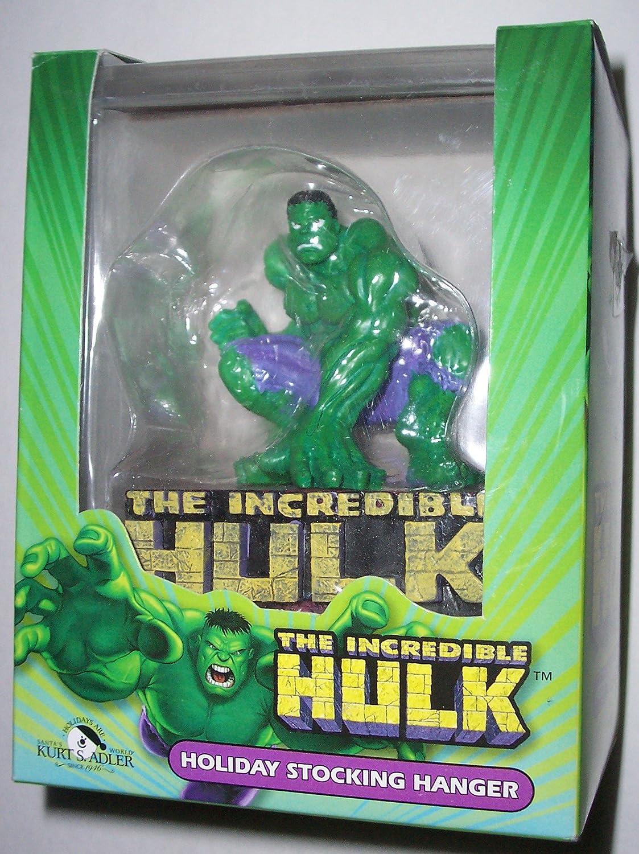 Amazon.com: Marvel Comics The Incredible Hulk Holiday Stocking ...