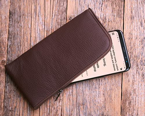 made in Europe Italian Leather Cover for iPhone 11 PRO Case