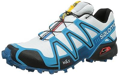 factory authentic 6ba9d ede24 Salomon Men s Speedcross 3 Trail Running Shoes Blue Size  15 UK