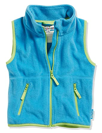 6050c4401e Playshoes Baby Fleece-Weste, ärmellose Unisex-Jacke für Mädchen und Jungen  mit Reißverschluss und Kontrastnähten: Amazon.de: Bekleidung