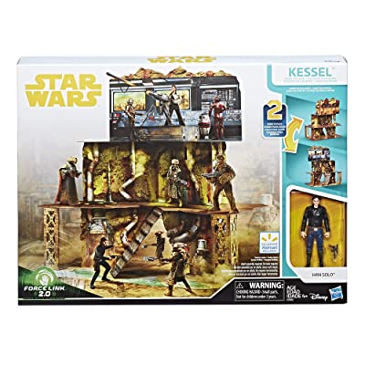 Star Wars Solo Force Link 2.0 Kessel Mine Escape Playset: Toys & Games