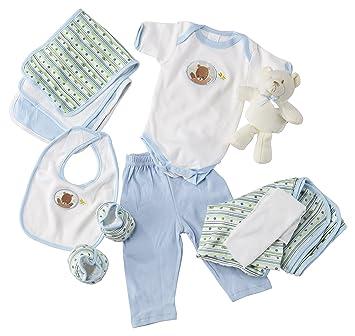 c948d60562ad Amazon.com   Big Oshi 10 Piece Layette Newborn Baby Gift Basket for ...