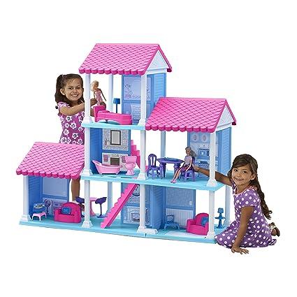 Superb American Plastic Toys Fashion Doll Delightful Dollhouse