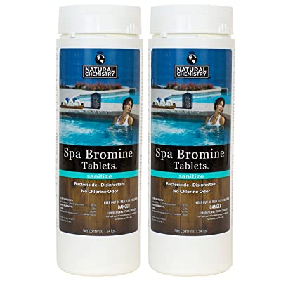 Natural Chemistry Spa Bromine Tablets (1.54 lb) (2 Pack) : Garden & Outdoor