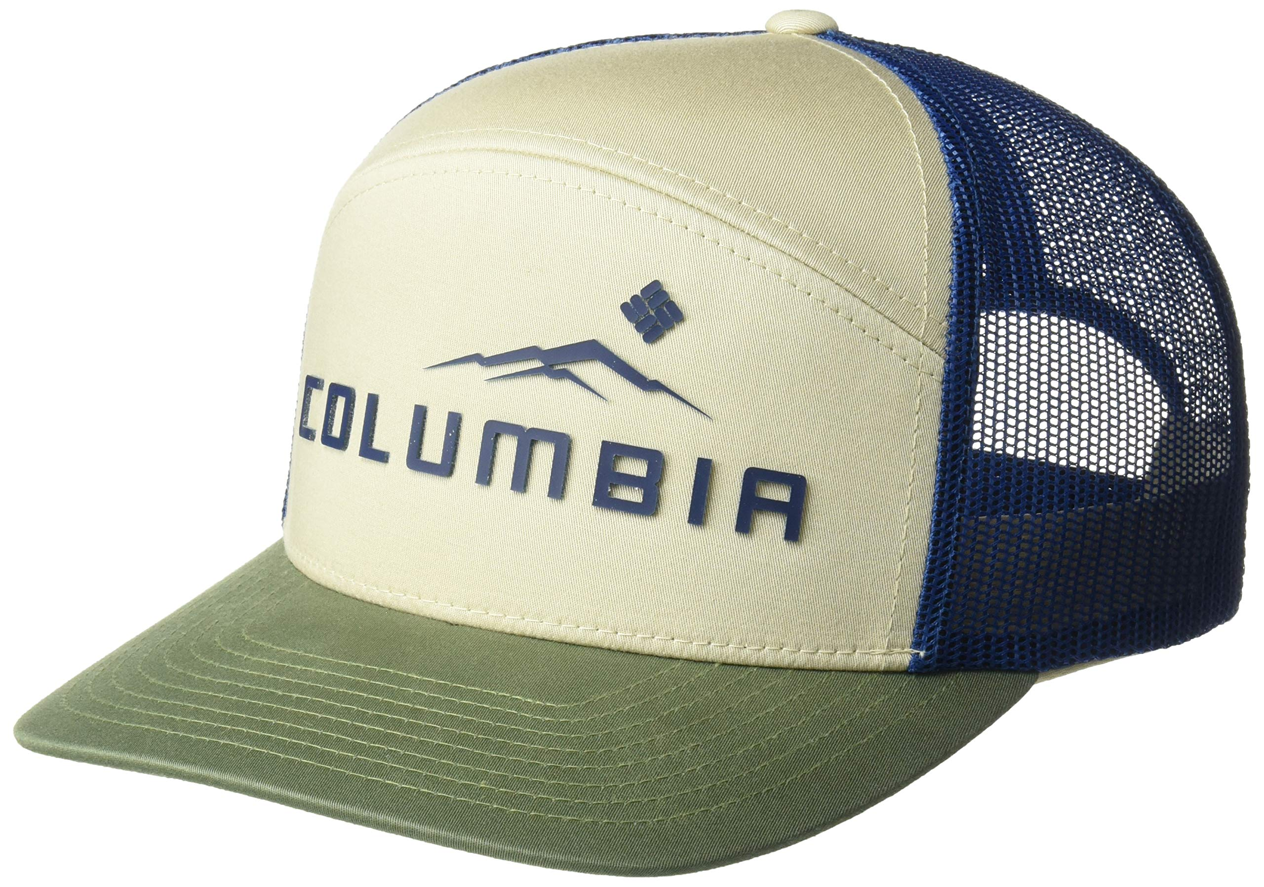 Columbia Men's Trail Evolution II Snap Back Hat, Fossil, Weld, One Size