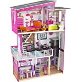 KidKraft 65871 Luxury wooden Dollhouse with 3 levels of play and 15 accessories included