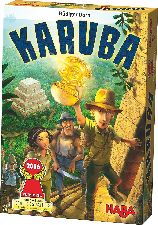 Haba – 300933 – Hundespielzeug D 'eveil – karuba – Unterhaltsames Spiel B016AU7O52 Brettspiele Sonderpreis | Elegante Und Stabile Verpackung