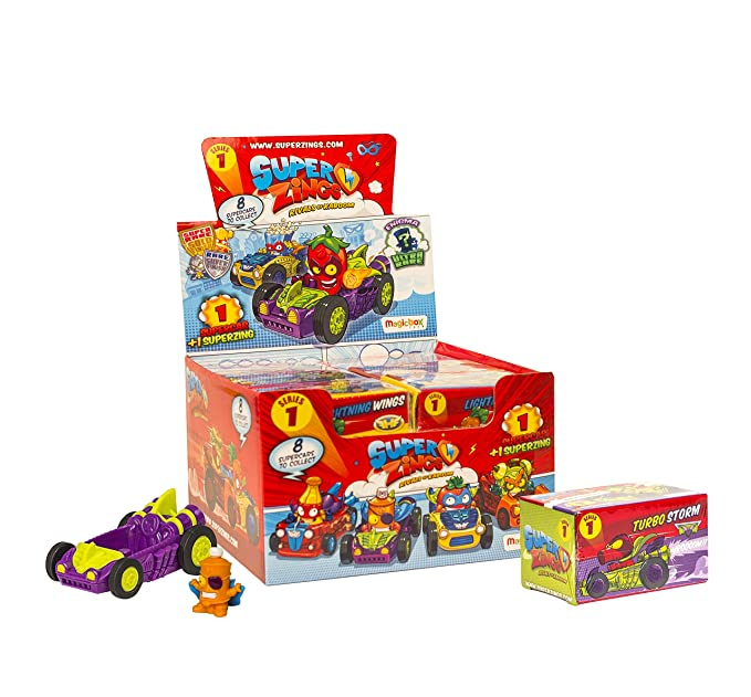 Superzings Rivals of Kaboom Caja de Figuras (Magic Box INT Toys SZ1P0302): Amazon.es: Juguetes y juegos