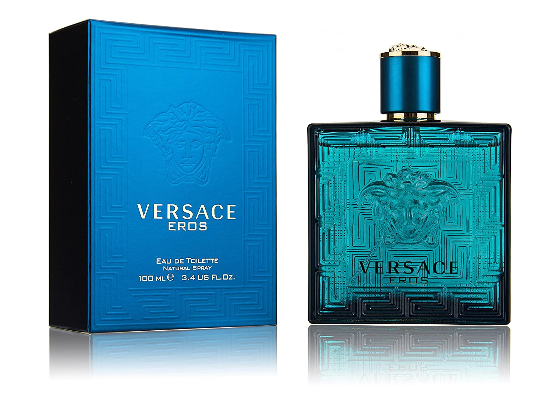 Amazoncom Versace Eros Eau De Toilette Spray For Men 100ml34oz