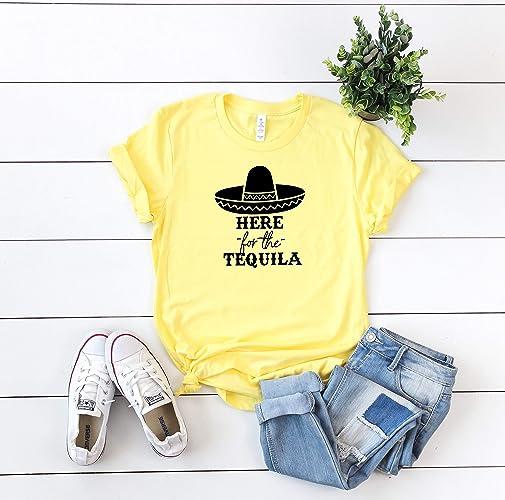 1d4c06338 Amazon.com: Tequila shirt cinco de mayo t-shirt woman's drinking ...