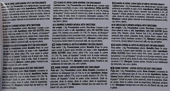 Max Protein Oatmeal Sac Harina Avena - 1500 gr: Amazon.es: Salud y cuidado personal