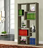 Coaster 800510 Home Furnishings Bookcase, Weathered Grey