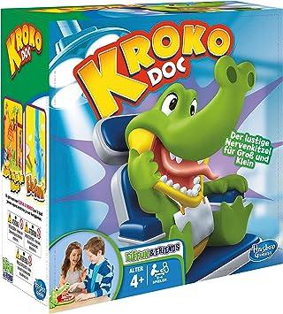Hasbro Gaming B0408100 Kroko Doc Kinderspiel: