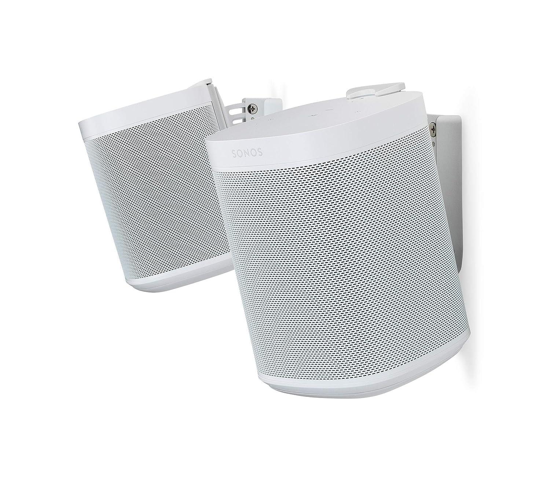 (Pair, White) - Flexson Pair Wall Mount for Sonos One - White   B076SSPP96