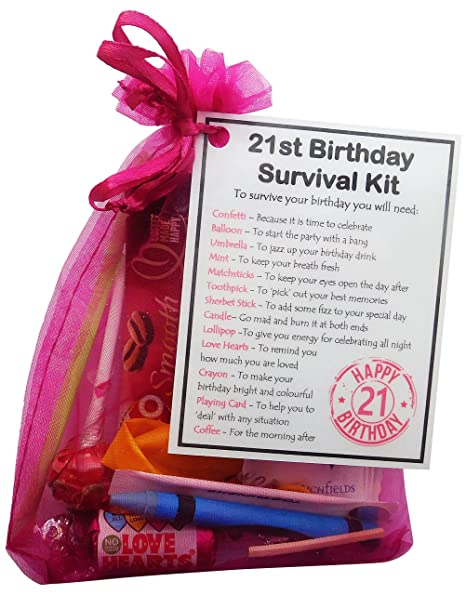 SMILE GIFTS UK 21st Birthday Gift