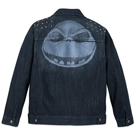 Amazon.com: Disney Jack Skellington Denim - Chaqueta para ...