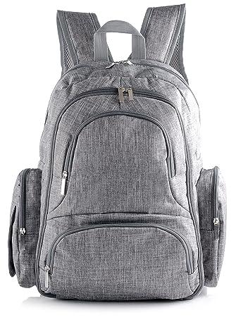 Amazon.com: Mochila de viaje bolsa de pañales con última ...