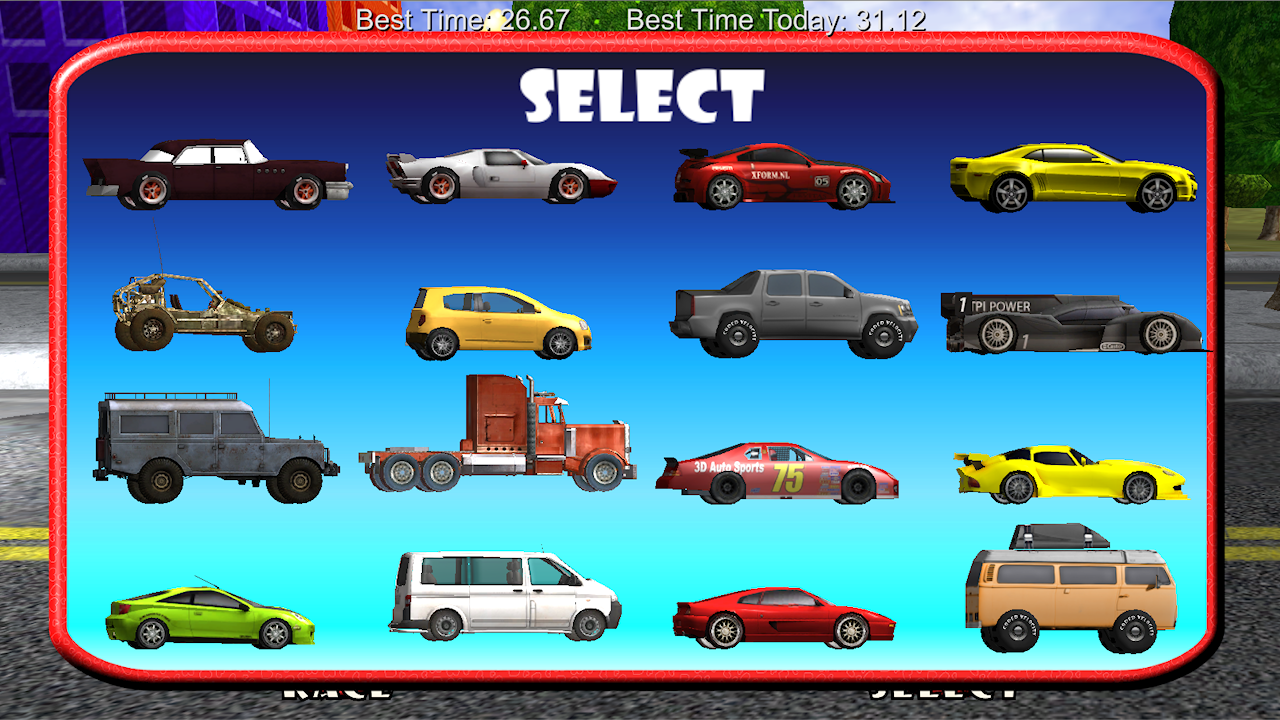 car race chase racing game for toddlers and kids