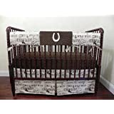 Amazon Com Trend Lab 3 Piece Crib Bedding Set Cowboy