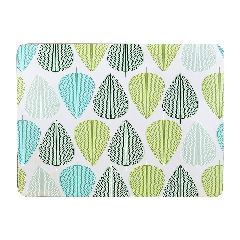 Premier Housewares Leaf Placemats - Set of 4, Orange 1203608 1203608_Orange