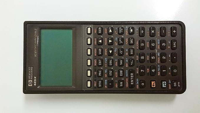 amazon com hp 48sx 48 sx calculator desktop computers electronics rh amazon com HP 48 SX Calculator HP Scientific Calculator