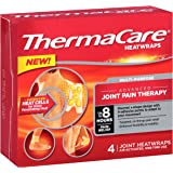 ThermaCare Heat Wraps Mulit-Purpose Joint Pain Therapy, Up To 8 Hours Pain Relief (4 Count)