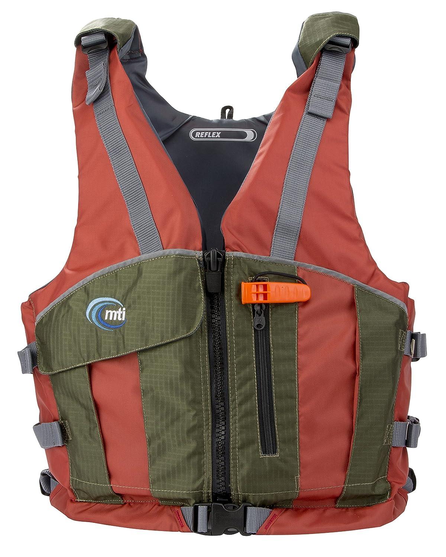 MTI Adventurewear反射PFDライフジャケット 3L Copper/Olive B01MECRXQL