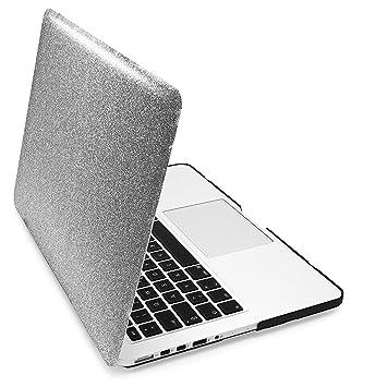 MyGadget Funda Efecto Brillante Apple Macbook Pro Retina 13 Pulgadas [de 2012 a Mitad 2016] - Cubierta Purpurina para Mac Case Ultra Delgado Hard - ...
