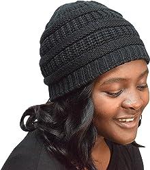 5b360f78ce5 Always Eleven Satin Lined Knit Beanie Hat
