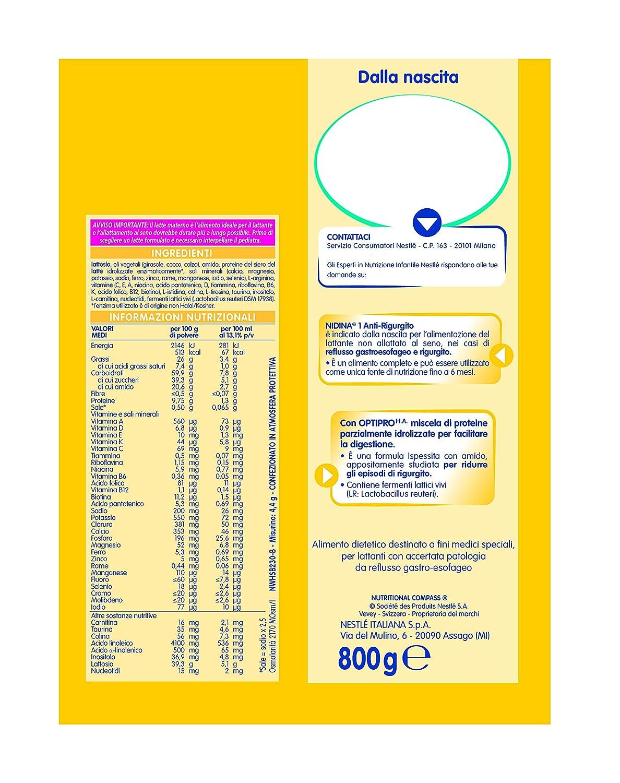 Nidina Ar 1 800G: Amazon.es: Salud y cuidado personal