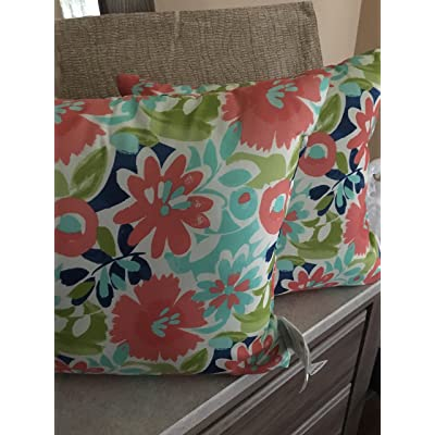 Mainstay Pack of Two Outdoor/Indoor Toss Pillows: Kitchen & Dining