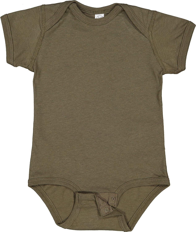 RABBIT SKINS Baby Soft Fine Jersey Short Sleeve Bodysuit