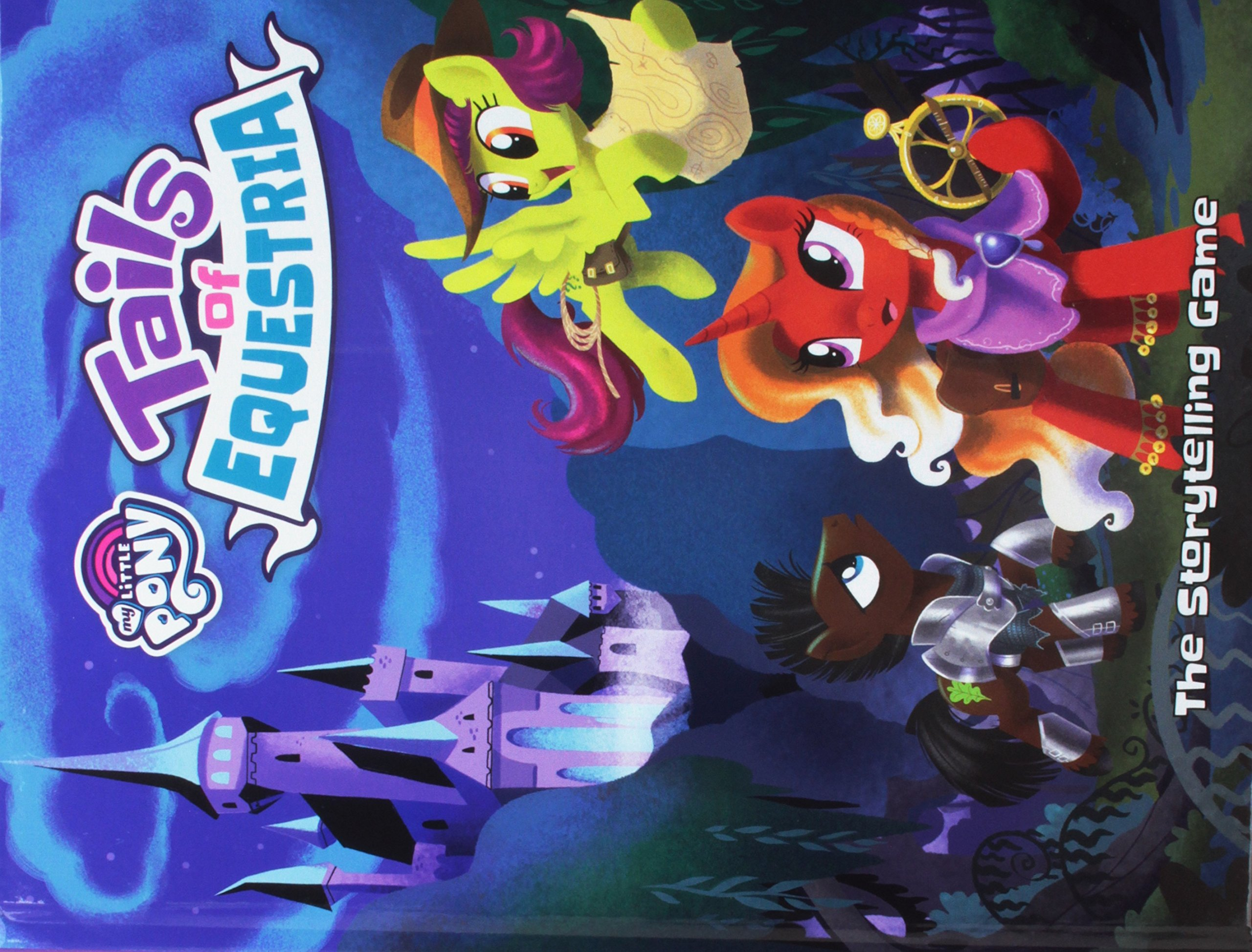 My Little Pony Tails Of Equestria Story Telling Game Core Rule Book