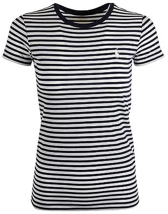7ee0c0e817a921 Ralph Lauren Polo Damen Shirt Rundhals T-Shirt Schwarz-Weiß Gestreift Größe  XL