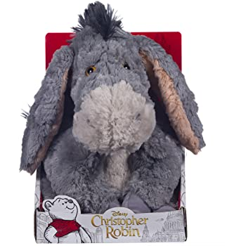 Posh Paws 37467 Christopher Robin Collection Winnie the Pooh Eeyore Soft Toy