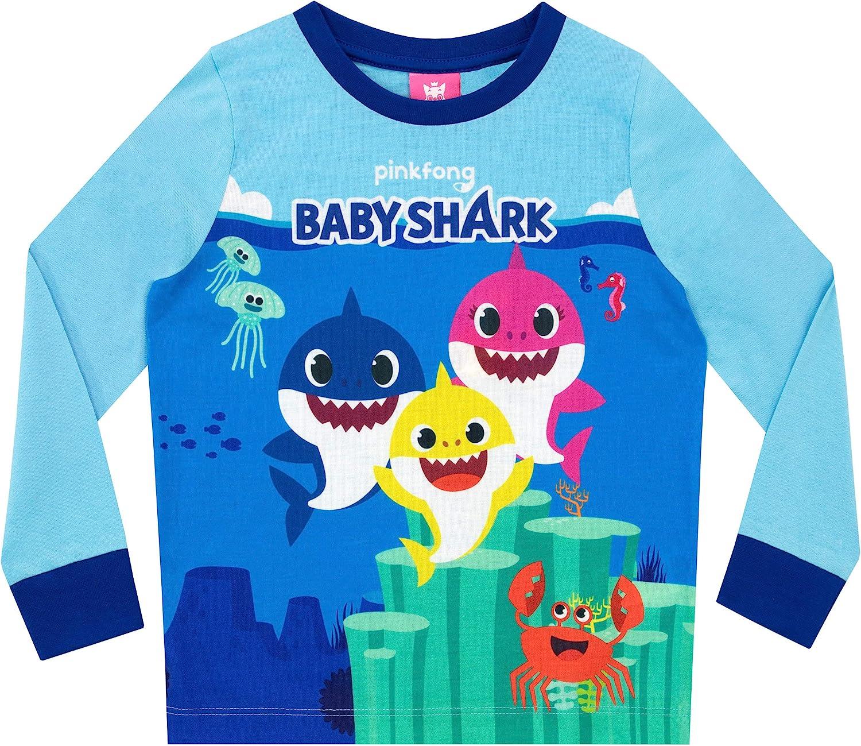 Baby Shark Pigiama Doo Doo Doo Doo PinkFong