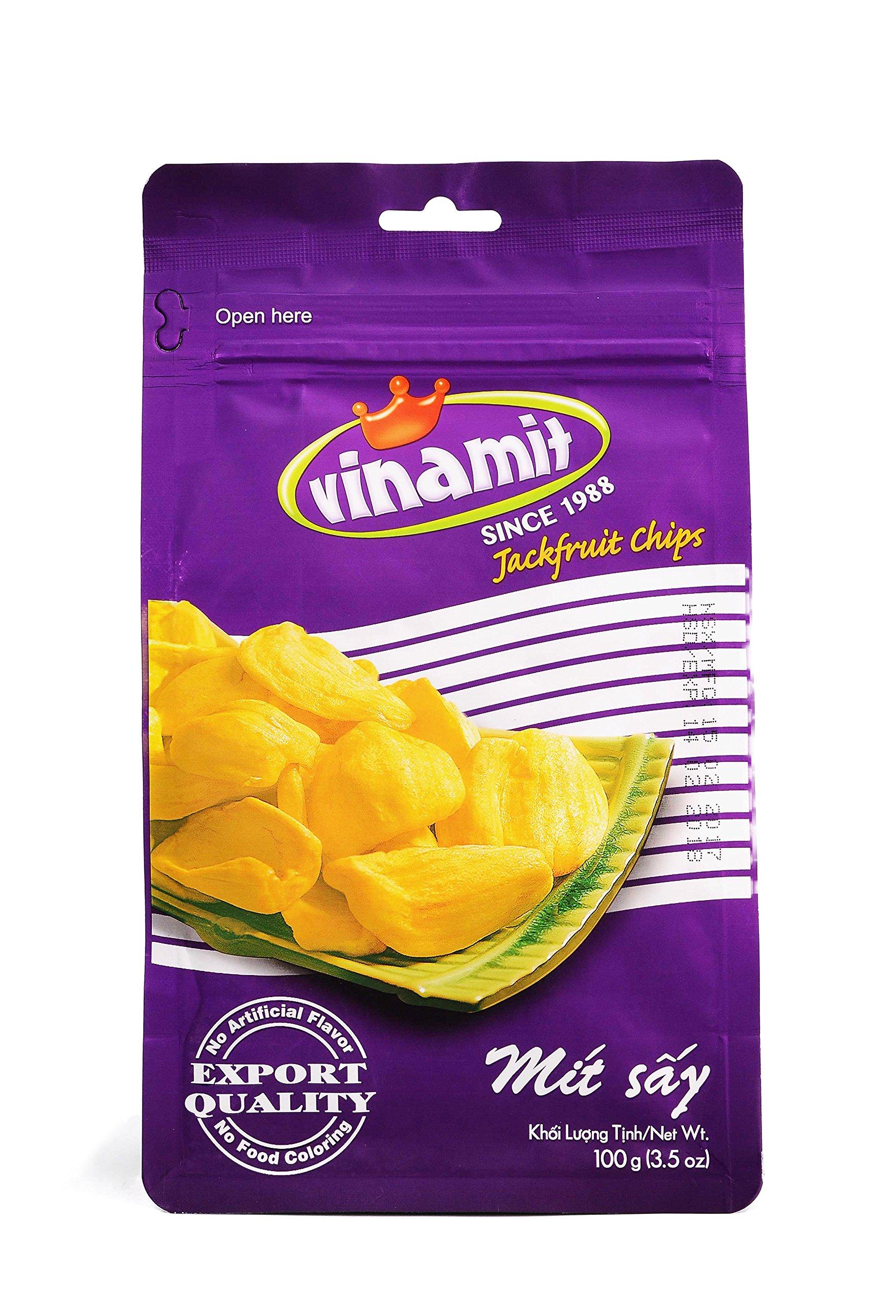 Vinamit Vietnam Jackfruit Chips - High Quality Food - 100 gram